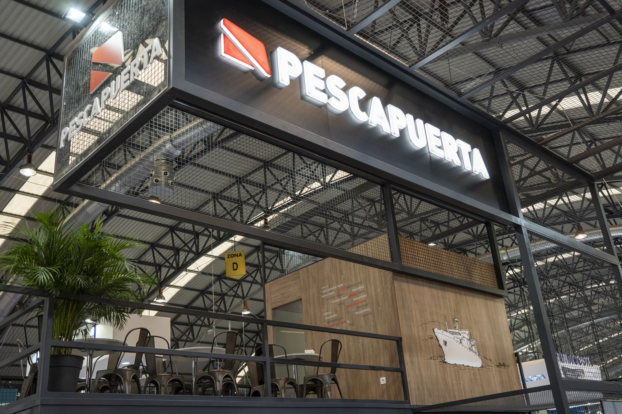 The Pescapuerta Group keeps its annual date with the Conxemar fair