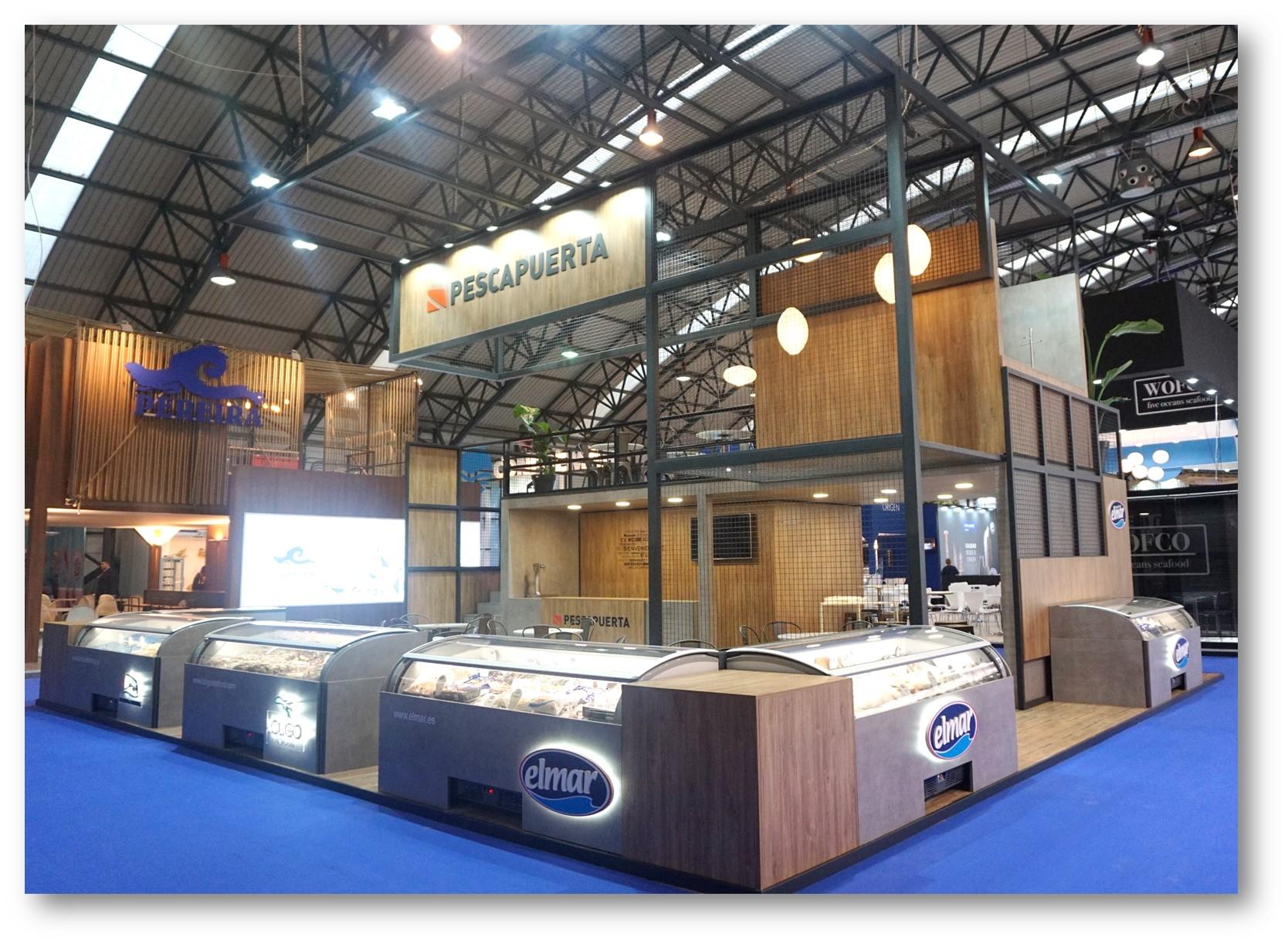 Pescapuerta attends the Conxemar Fair 2017