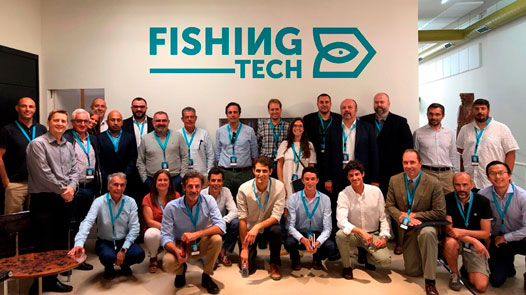 PESCAPUERTA TAKES PART IN THE OPENING DAY FOR THE III EDITION OF FISHING TECH